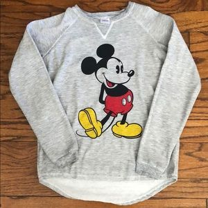 Mickey Mouse Crew Neck Sweater